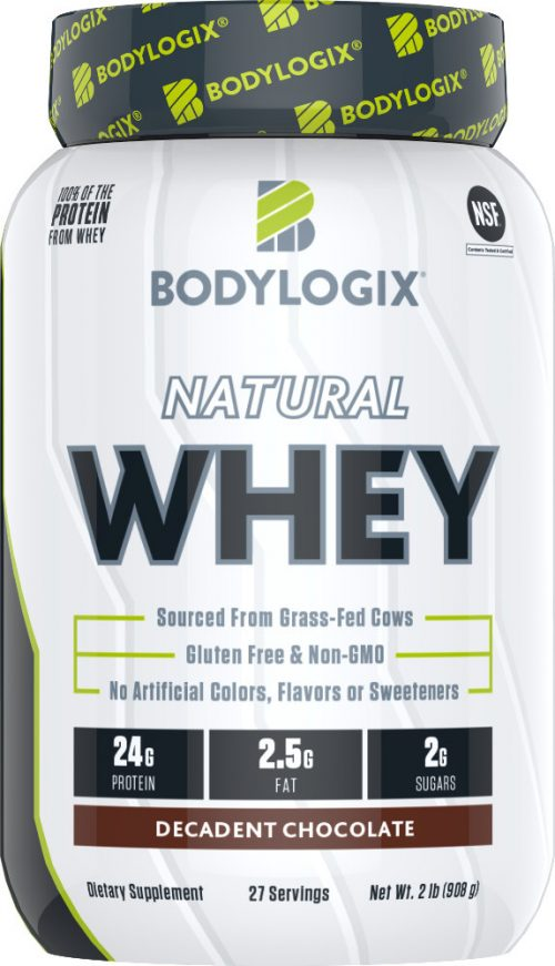 Bodylogix Natural Whey - 2lb Decadent Chocolate