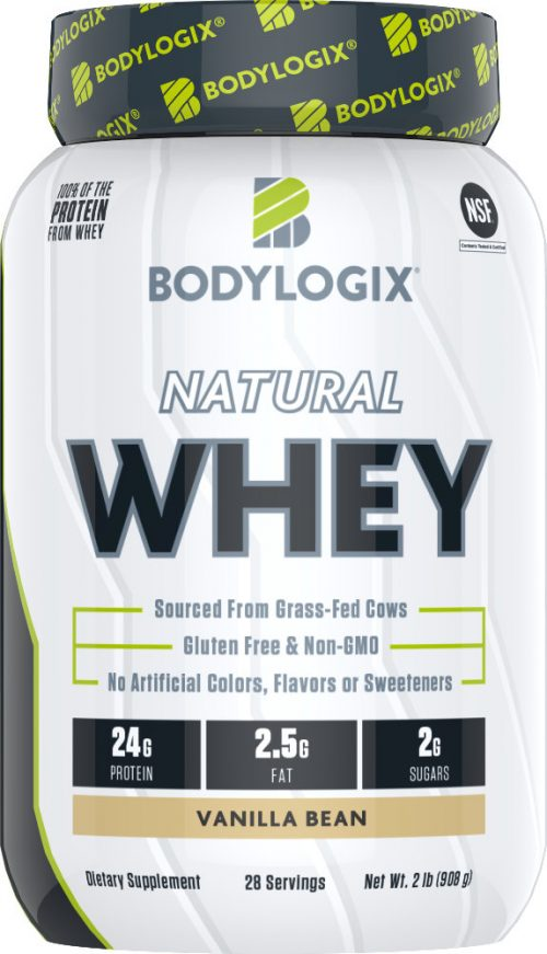 Bodylogix Natural Whey - 2lb Vanilla Bean