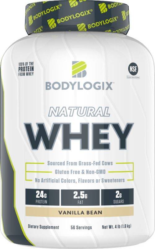 Bodylogix Natural Whey - 4lb Vanilla Bean