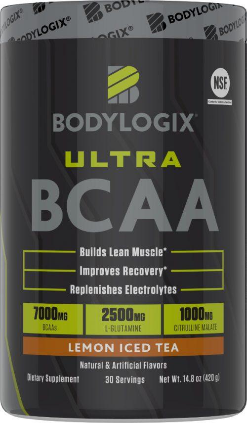 Bodylogix Ultra BCAA - 30 Servings Lemon Iced Tea