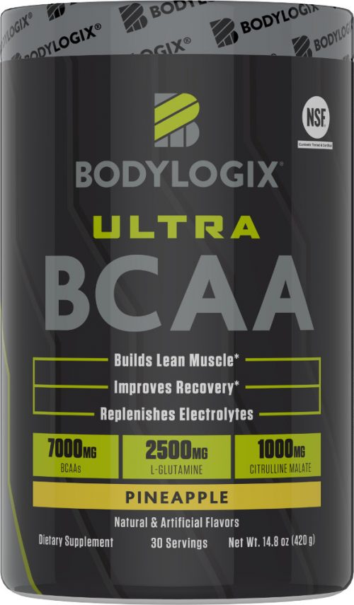 Bodylogix Ultra BCAA - 30 Servings Pineapple