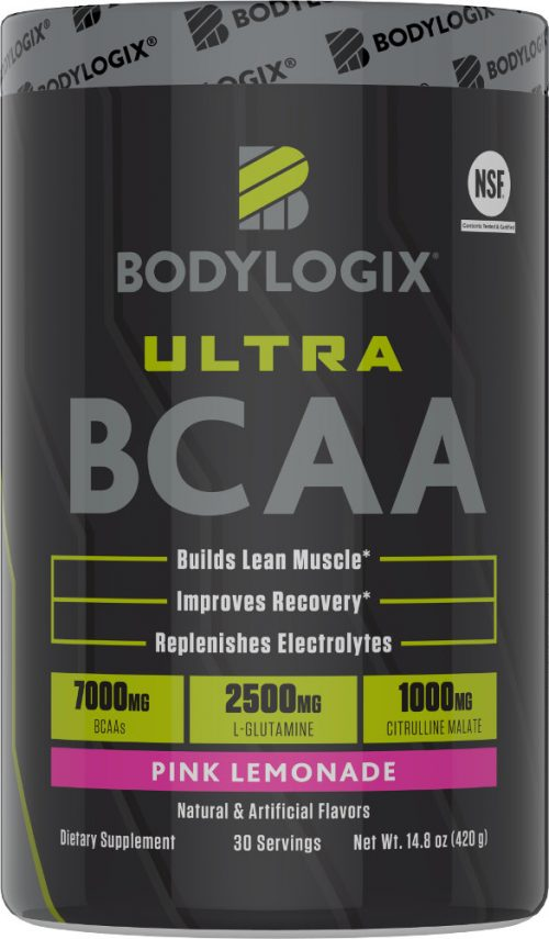 Bodylogix Ultra BCAA - 30 Servings Pink Lemonade