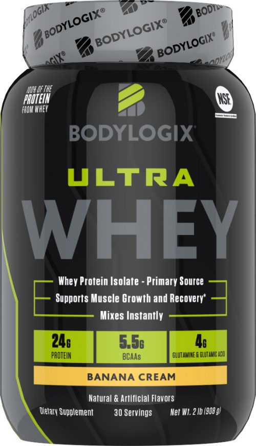 Bodylogix Ultra Whey - 2lbs Banana Cream