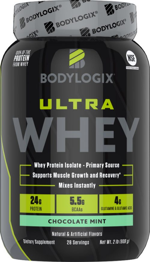 Bodylogix Ultra Whey - 2lbs Chocolate Mint