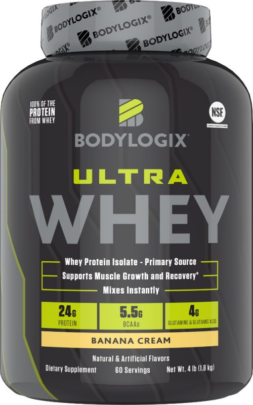 Bodylogix Ultra Whey - 4lbs Banana Cream