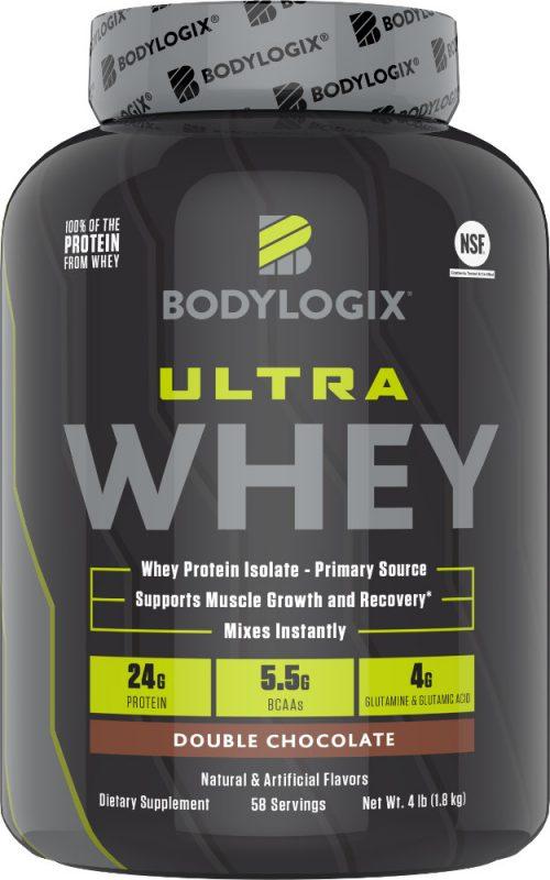 Bodylogix Ultra Whey - 4lbs Double Chocolate