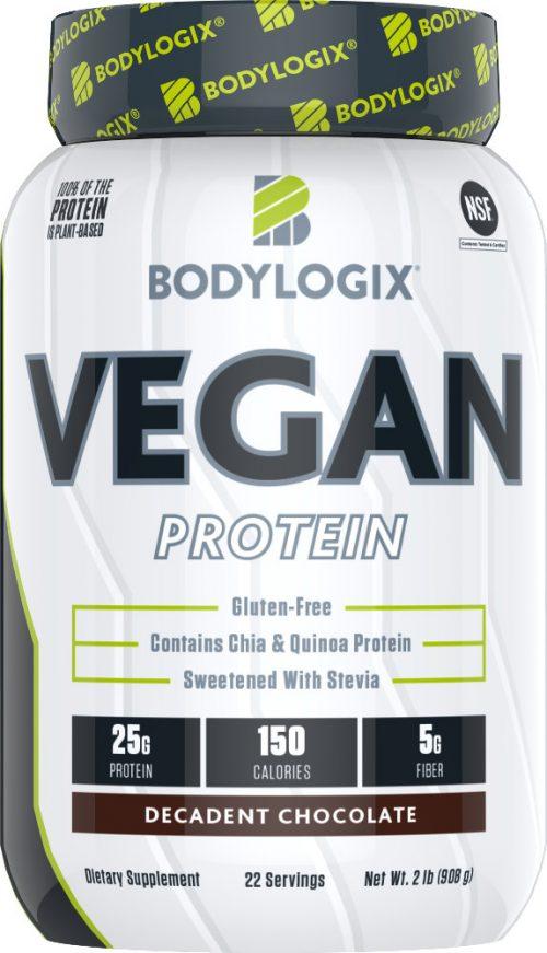 Bodylogix Vegan Protein - 2lbs Decadent Chocolate
