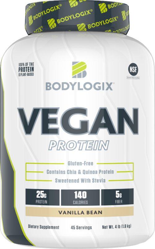 Bodylogix Vegan Protein - 4lbs Vanilla Bean