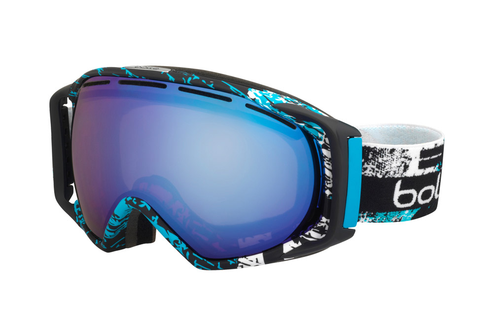 Bolle Gravity Goggles - matteblkbluzen aurora, adjustable