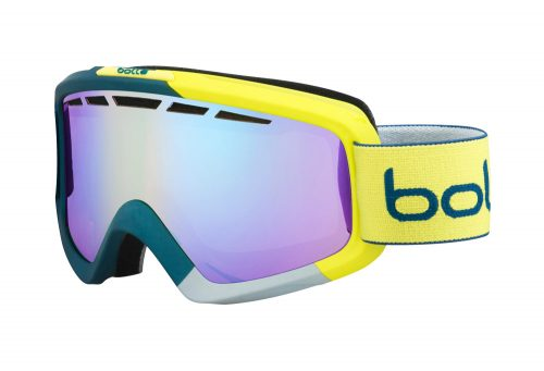 Bolle Nova II Goggles - matte blue & yellow modulator light control, adjustable