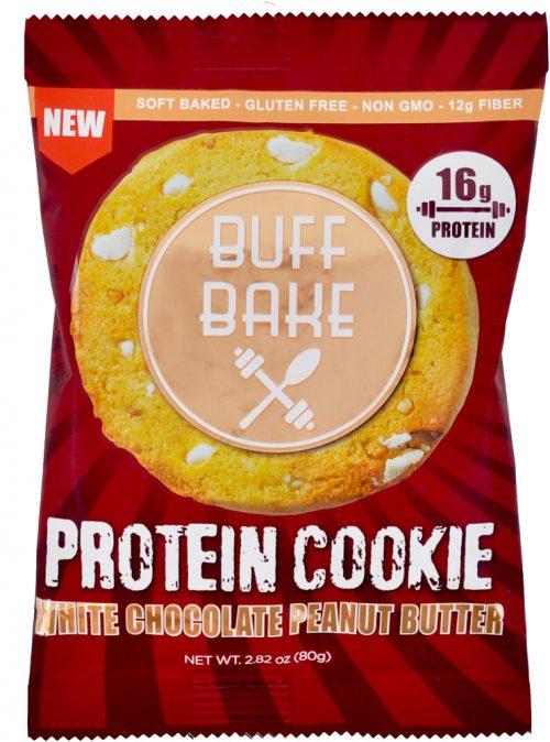Buff Bake Buff Bake Cookies - 1 Cookie White Chocolate Peanut Butter