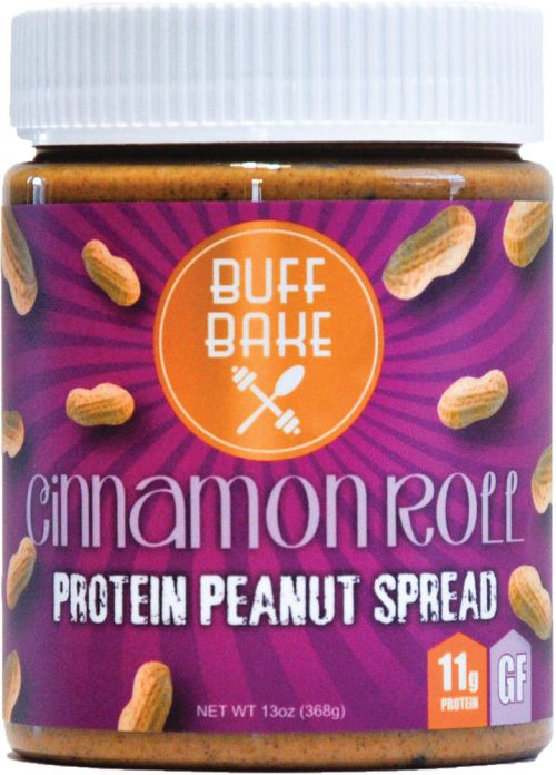 Buff Bake Protein Peanut Spread - 13oz Cinnamon Raisin