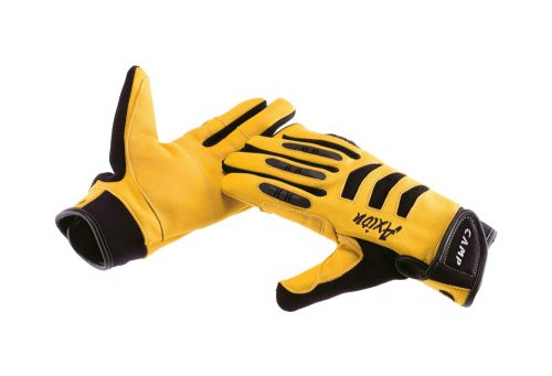 CAMP USA Axion Belay Gloves - yellow, medium