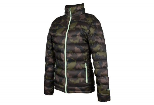 CIRQ AVA 700 Down Jacket - Women's - camo print/army/paradise green, large