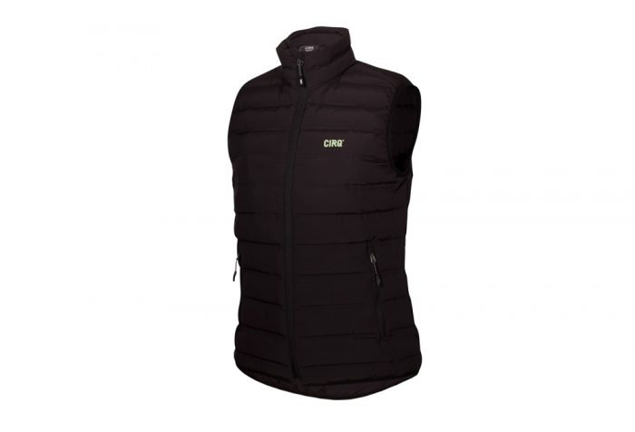 CIRQ Cascade Down Vest - Women's - anthracite, small