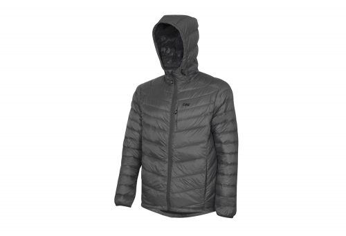 CIRQ Cascade Hooded Down Jacket - Men's - charcoal, medium