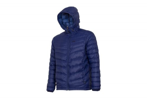 CIRQ Cascade Hooded Down Jacket - Men's - deep blue, large