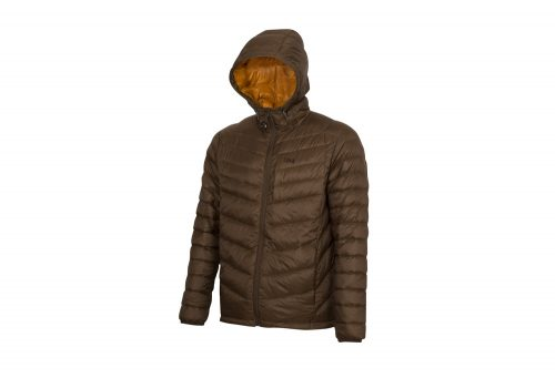 CIRQ Cascade Hooded Down Jacket - Men's - hickory, medium