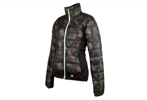 CIRQ May Down Jacket - Women's - camo print/anthracite/paradise green, x-large