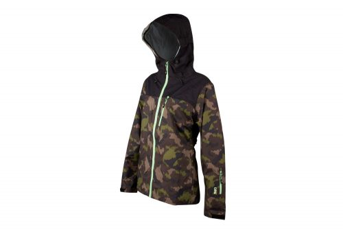 CIRQ Remy Waterproof Shell - Women's - camo print/paradise green, small