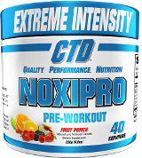 CTD Sports Noxipro - 40 Servings Fruit Punch