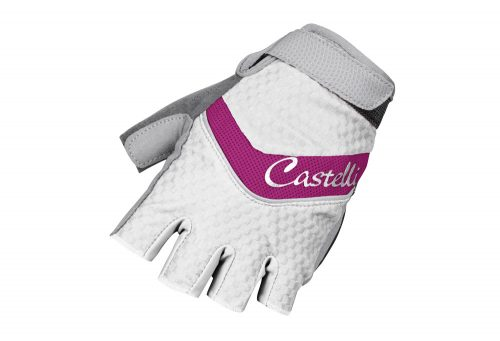 Castelli Elite Gel Glove - Women's - fuchsia/white, small
