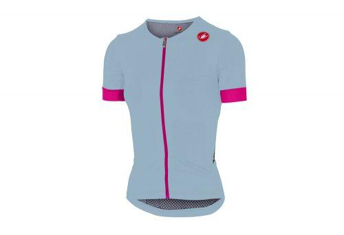 Castelli Free Speed Race Jersey - Women's - pale blue/pink fluo, large