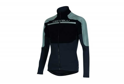 Castelli Secondo Strato Reflex FZ Jersey - Men's - black/reflex/anthracite, large