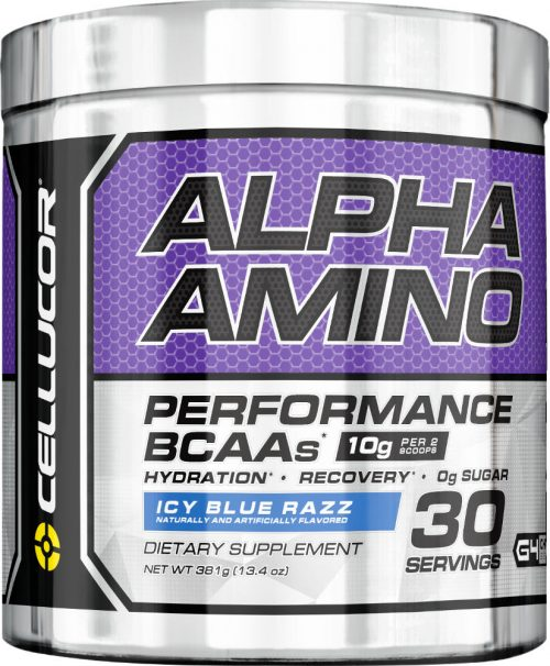 Cellucor Alpha Amino - 30 Servings Icy Blue Razz