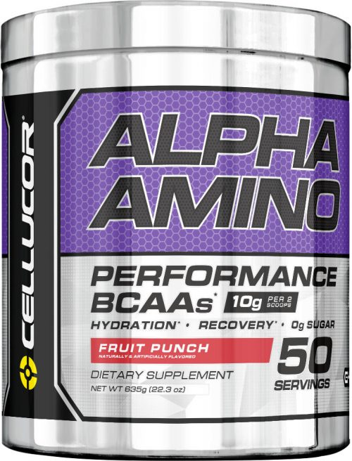 Cellucor Alpha Amino - 50 Servings Fruit Punch