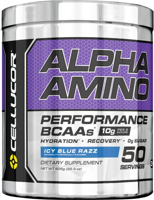 Cellucor Alpha Amino - 50 Servings Icy Blue Razz
