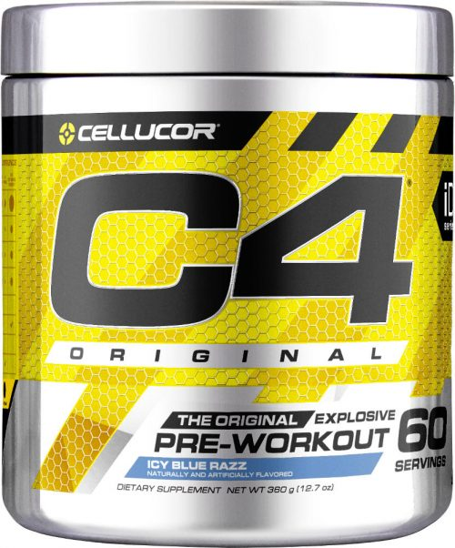 Cellucor C4 - 60 Servings Icy Blue Razz