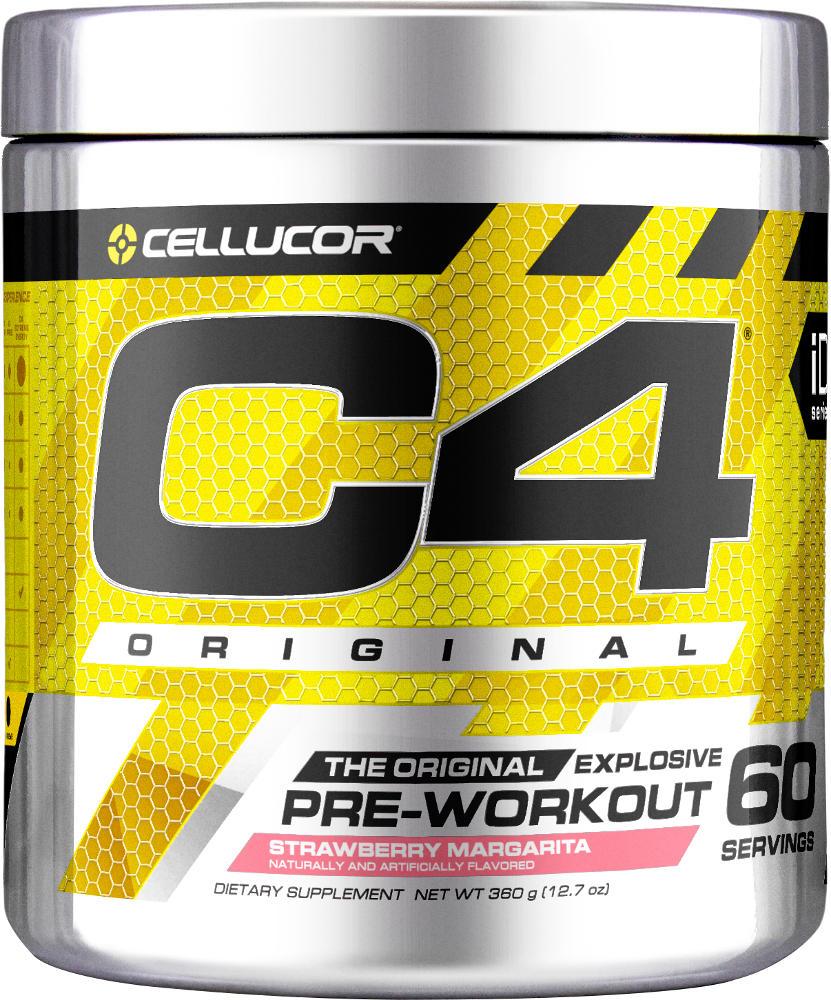Cellucor C4 - 60 Servings Strawberry Margarita