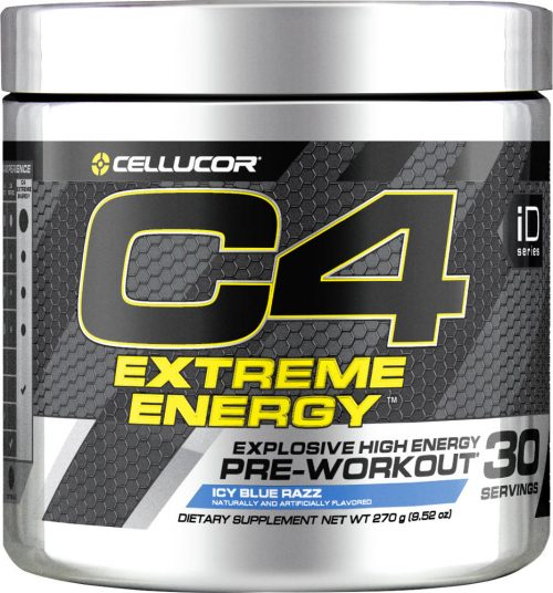 Cellucor C4 Extreme Energy - 30 Servings Icy Blue Razz