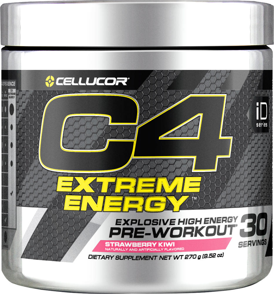 Cellucor C4 Extreme Energy - 30 Servings Strawberry Kiwi