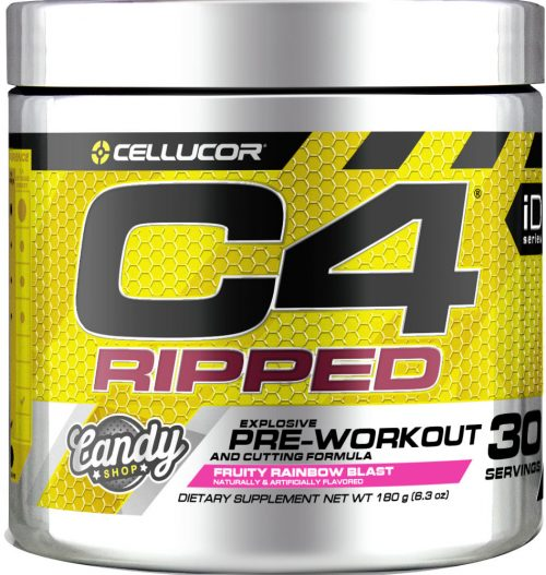 Cellucor C4 Ripped - 30 Servings Fruity Rainbow Blast