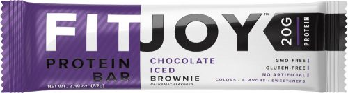 Cellucor FitJoy Bars - 1 Bar Chocolate Iced Brownie