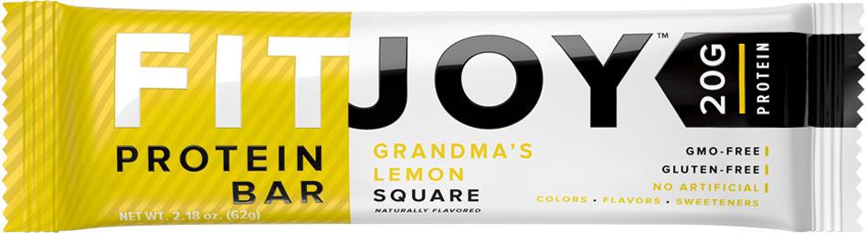 Cellucor FitJoy Bars - 1 Bar Grandma's Lemon Square