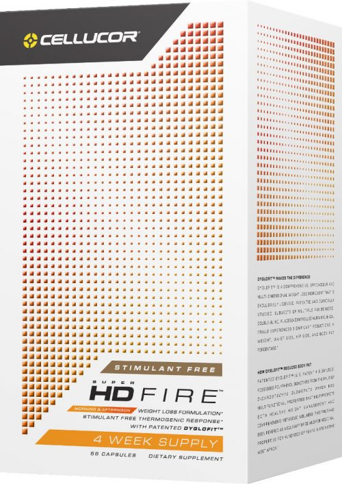Cellucor Super HD Fire Non-Stimulant - 56 Capsules Stimulant Free