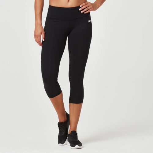 Classic Heartbeat 7/8 Leggings - Black - S