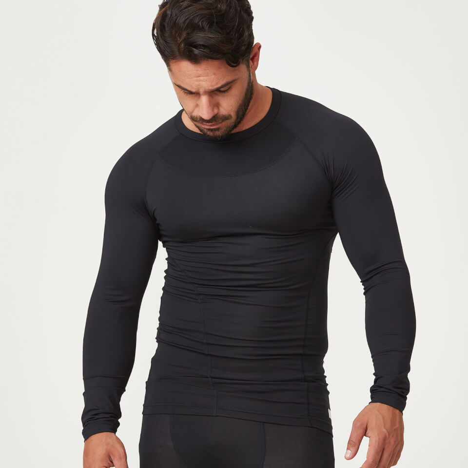 Compression Long Sleeve Top - Black - S