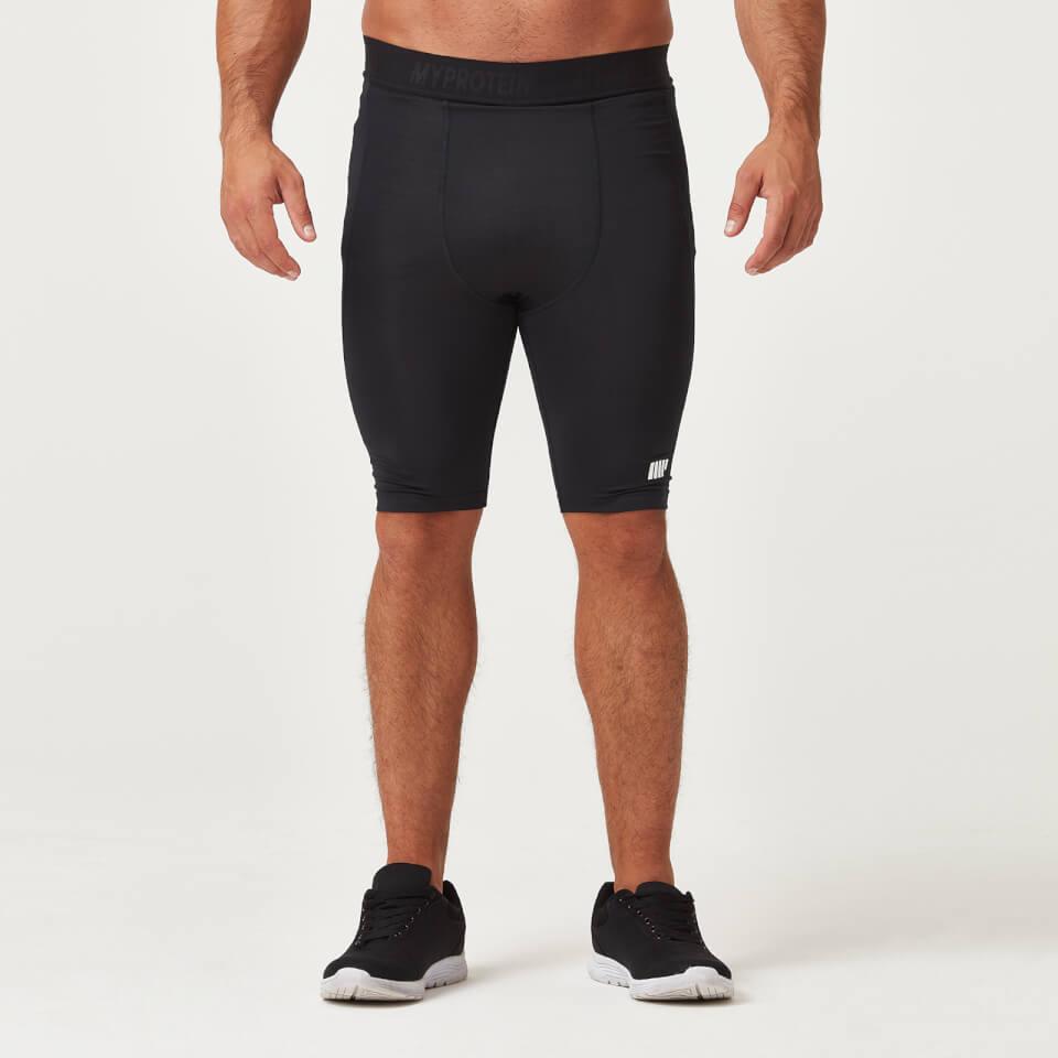 Compression Shorts - Black - XL