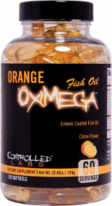 Controlled Labs Orange OxiMega Fish Oil - 120 Softgels