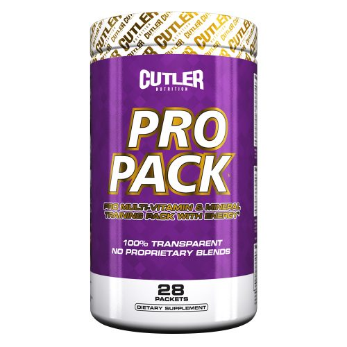 Cutler Nutrition Pro Pack - 28 Packs