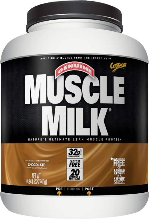 CytoSport Muscle Milk - 4.94lbs Chocolate