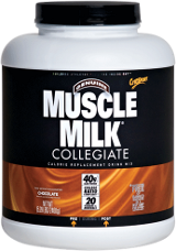 CytoSport Muscle Milk Collegiate - 5.29lbs Strawberries 'N Creme