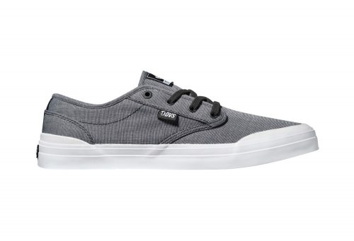 DVS Cedar Shoes - Men's - black chambray, 7.5