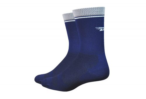 "DeFeet Levitator Lite 6"" Socks - navy, x-large"