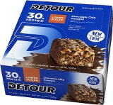 Detour Detour Bar (Low Sugar) - Box of 12 Chocolate Chip Caramel