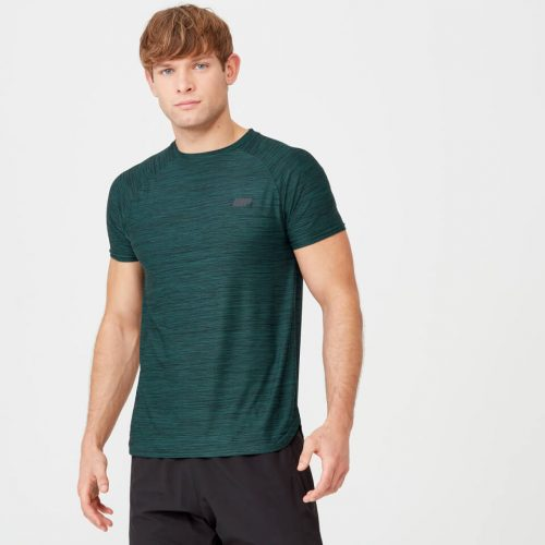 Dry-Tech Infinity T-Shirt - Dark Green Marl - XS